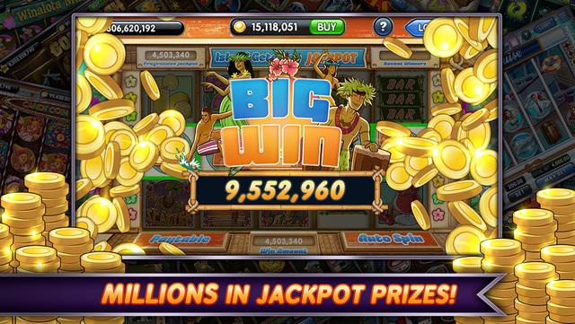 Casino slot machine jackpots 2018
