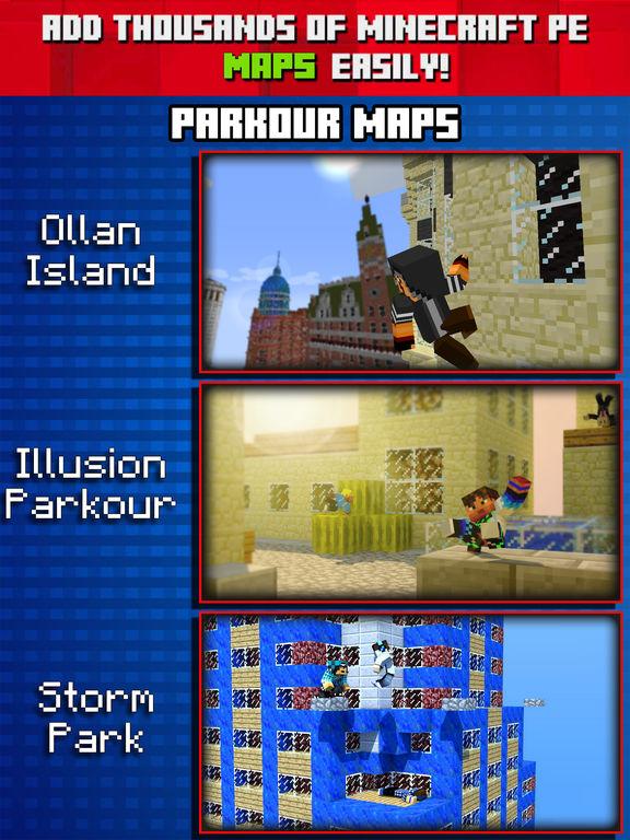 Parkour Maps For Minecraft PE Pocket Edition Revenue - Maps fur minecraft pe ios