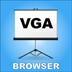 Desired by many business professionals is the ability to share webpages off the iPad using the VGA output