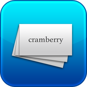 Cramberry ~ flash cards for iPad