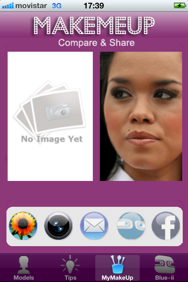 MakeMeUp Screenshot