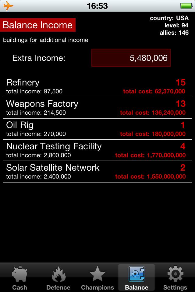 World War Calculator Ultra Screenshot