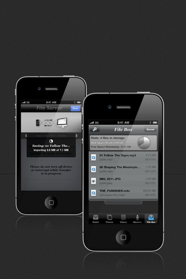 Private Info Screenshot