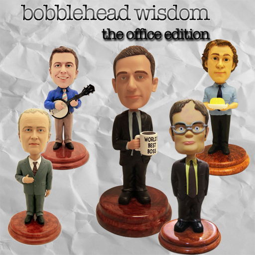 Bobblehead Wisdom: The Office Edition