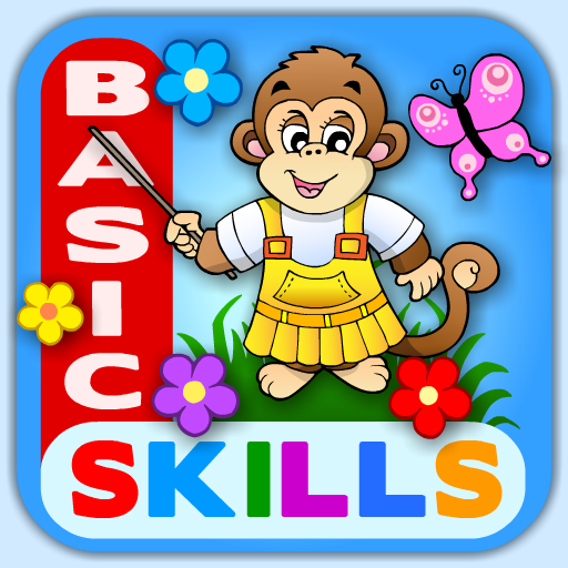Abby – Basic Skills Preschool: Counting, Letters, Puzzles Colors, Shapes, Patterns, Matching and more