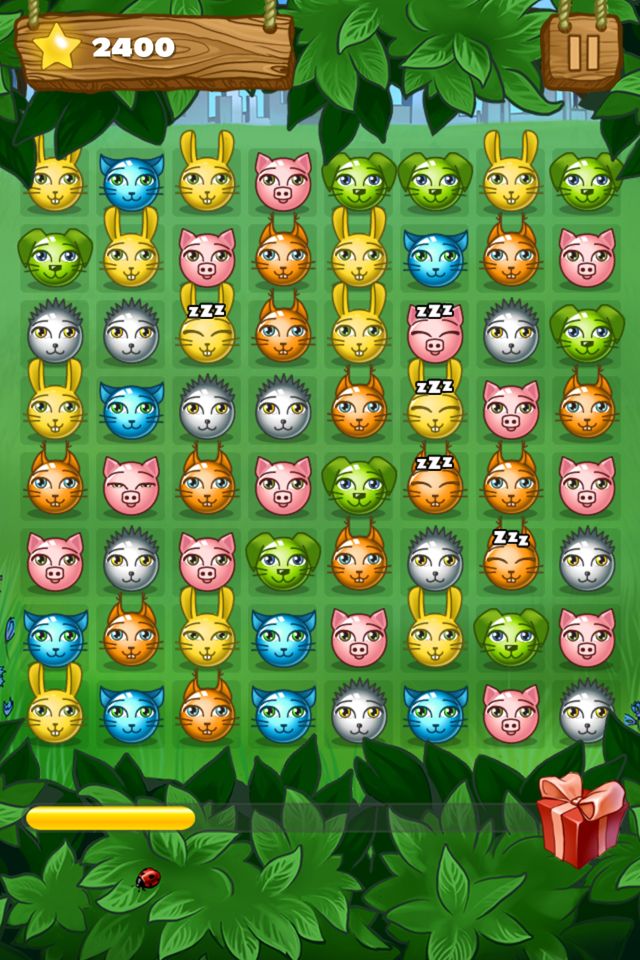 Gluppie – logic game – funny pets, puzzles and a lot of fun for childrens and parents in HD Screenshot