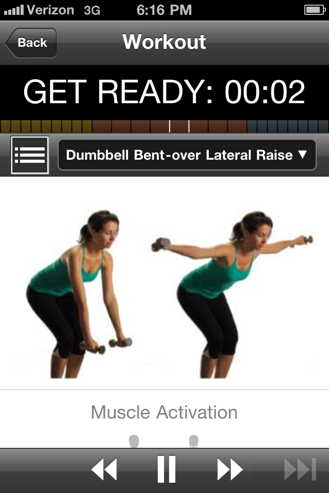 GAIN Fitness Screenshot
