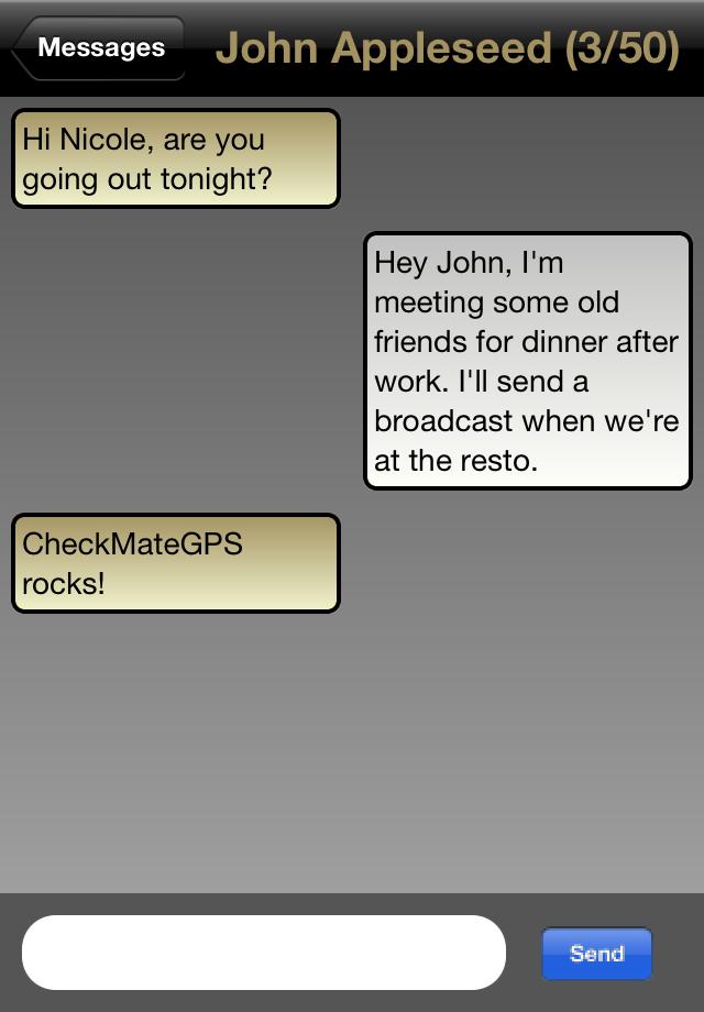 CheckMateGPS Screenshot