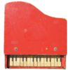 Vintage Toy Piano 古老的玩具鋼琴 for Mac