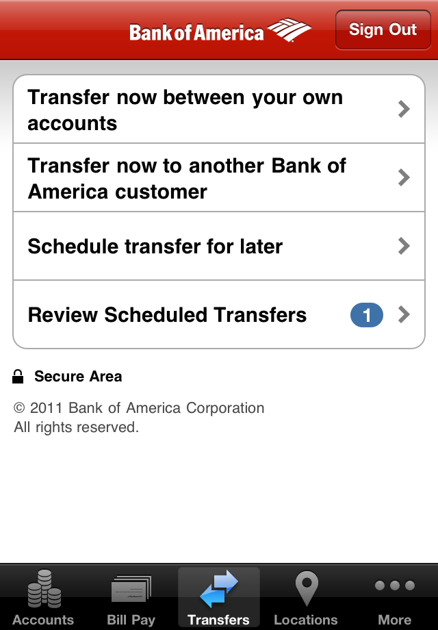 Bank Of America Mobile Banking By Bank Of America