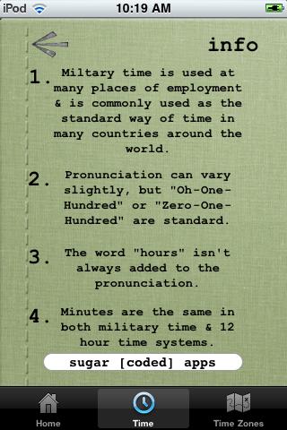 Military Time Converter Screenshot