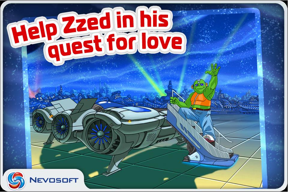 Zzed: match 3 cosmic shooter Screenshot