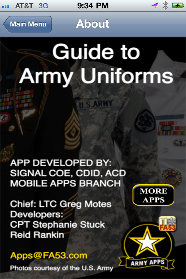 Army uniform app