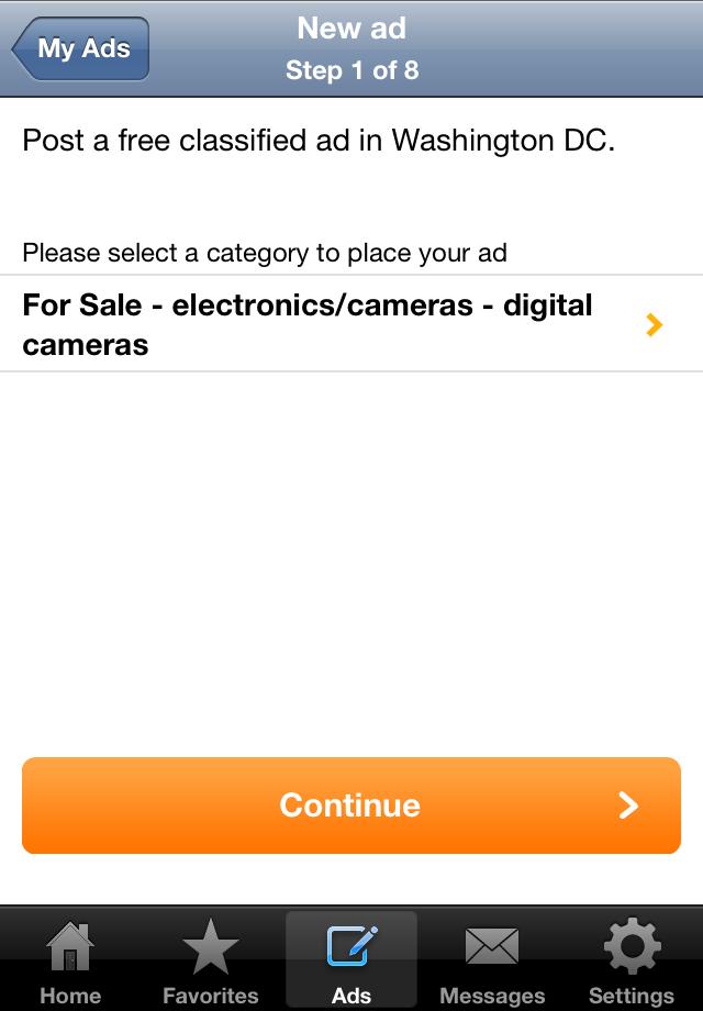 Locanto Classifieds Screenshot