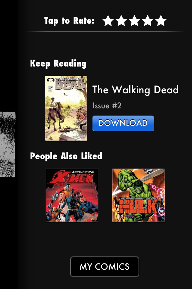Comics Screenshot