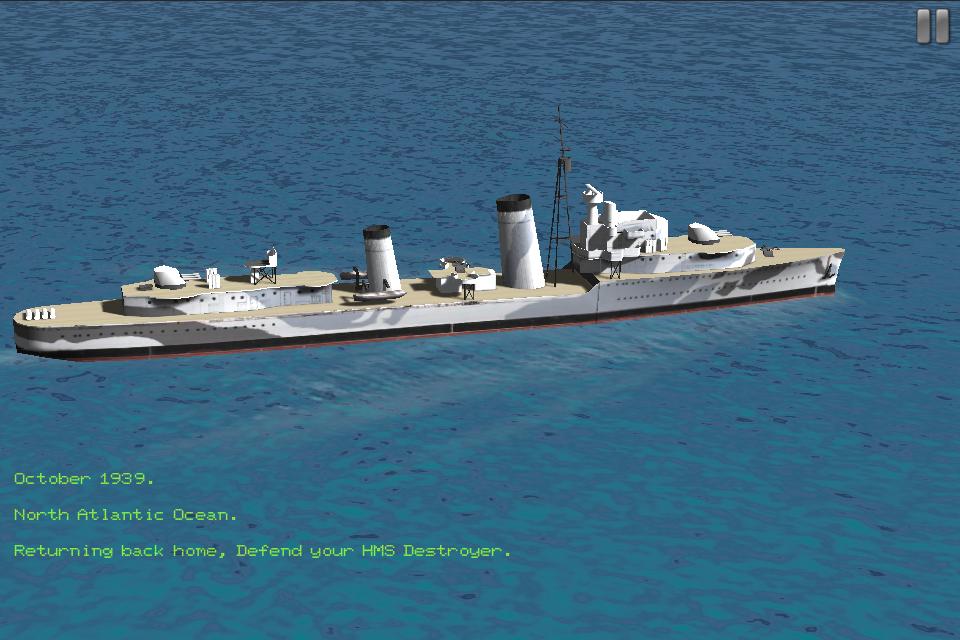 HMS Destroyer Lite | iPhone Simulation games | by RORTOS SRL