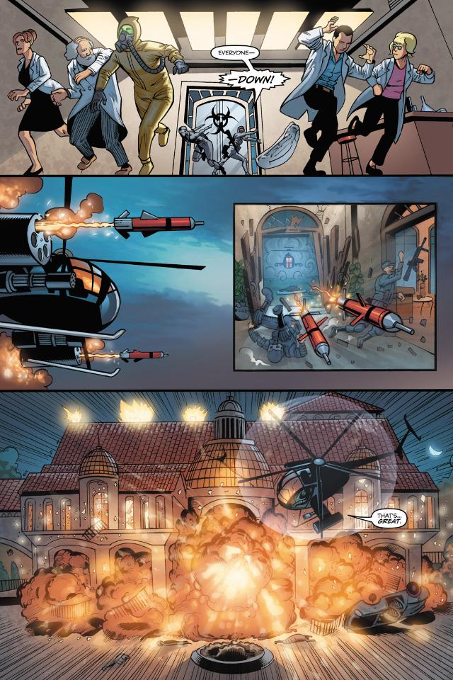 G.I. Joe Comics Screenshot