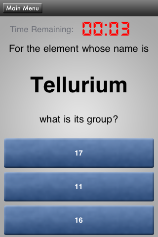 HowToSolve – Periodic Table Pop Quiz Screenshot