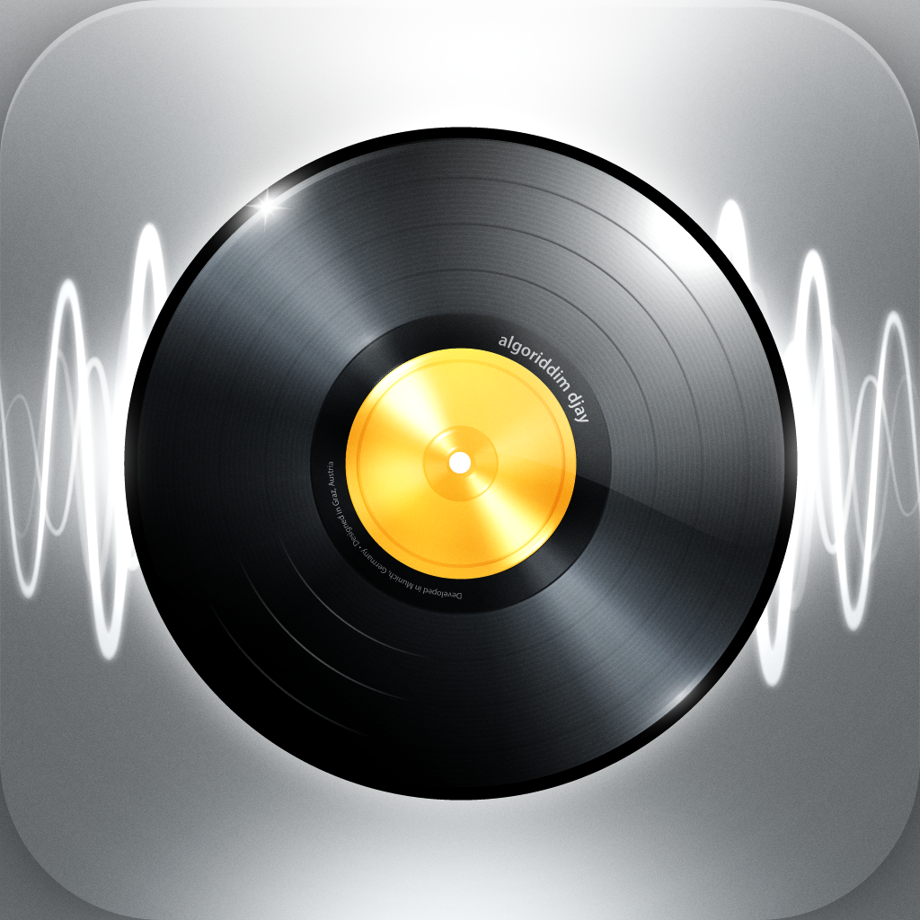 djay for iPhone & iPod touch – Scratch. Mix. DJ.