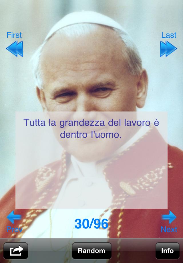 Frasi Famose Di Papa Giovanni Paolo 2.App Shopper Papa Giovanni Paolo Ii Frasi Celebri Lifestyle