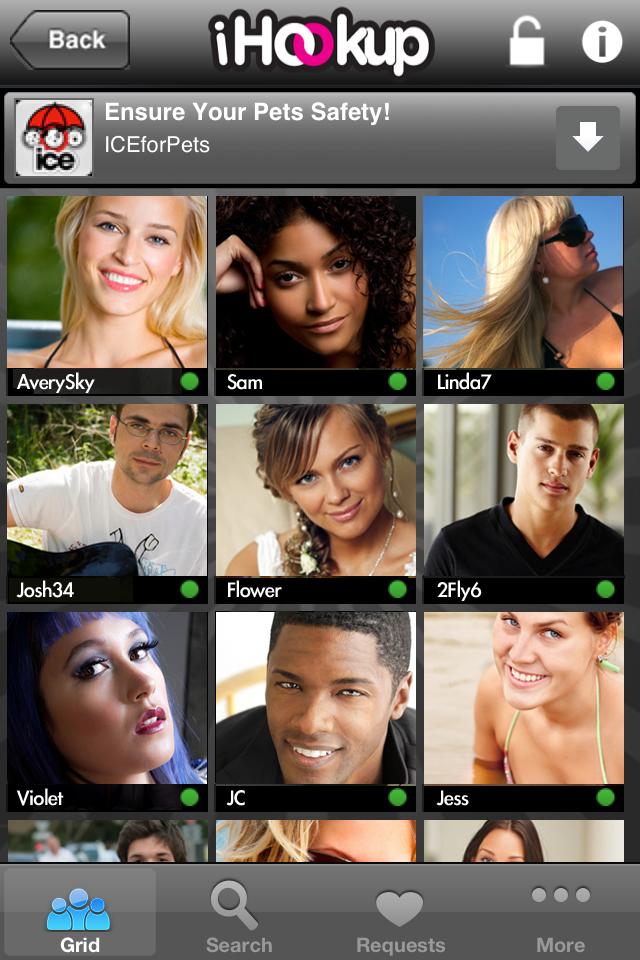 Ihookup mobile app