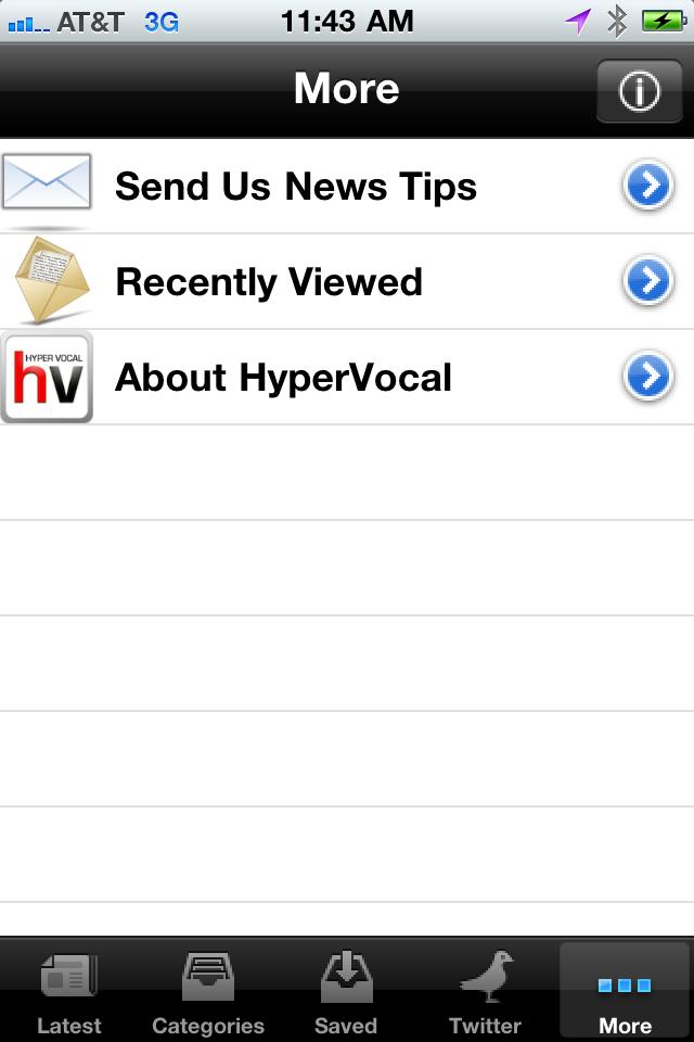HyperVocal Screenshot