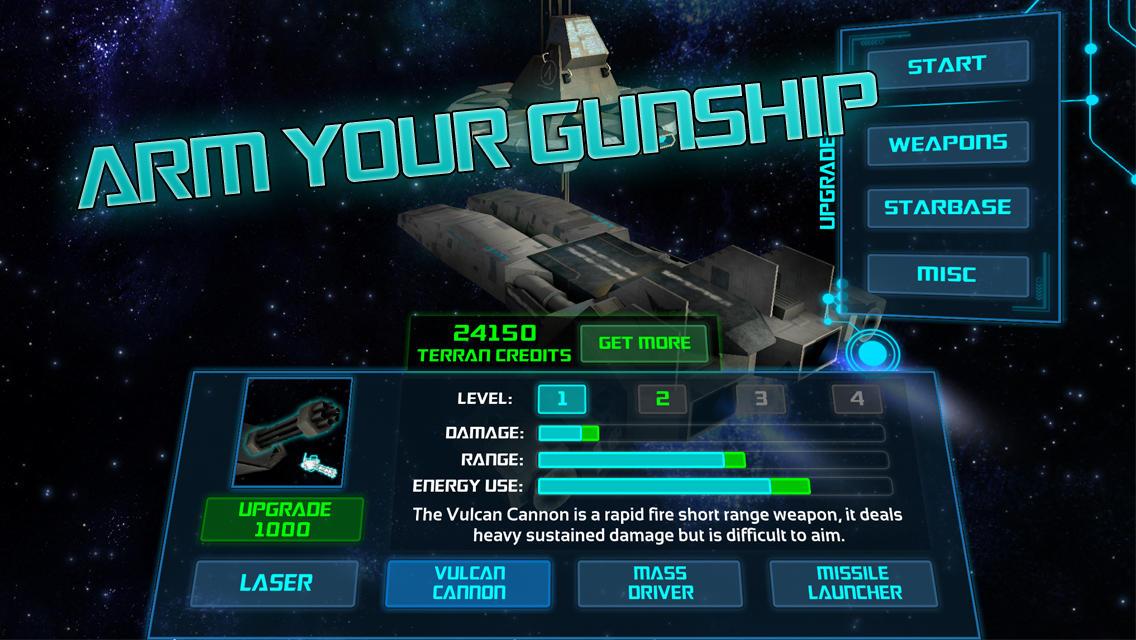 Starbase Gunship