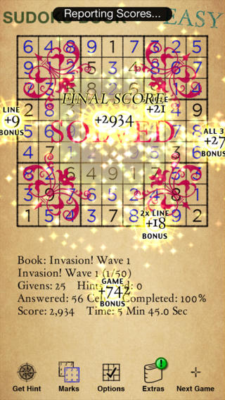 Big Bad Sudoku Book Screenshot