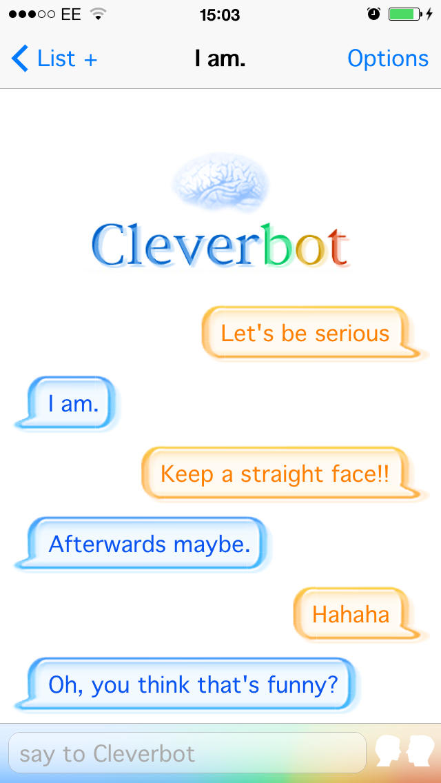 Cleverbot iOS App