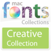 10 款創作型 Mac 字體 MacFonts-CreativeFonts   for Mac