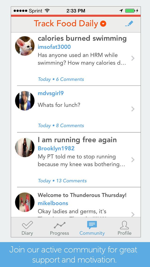 Myplate Calorie Tracker Ios App