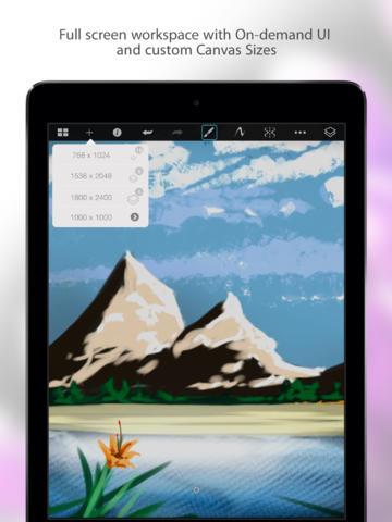 SketchBook Pro for iPad iOS App