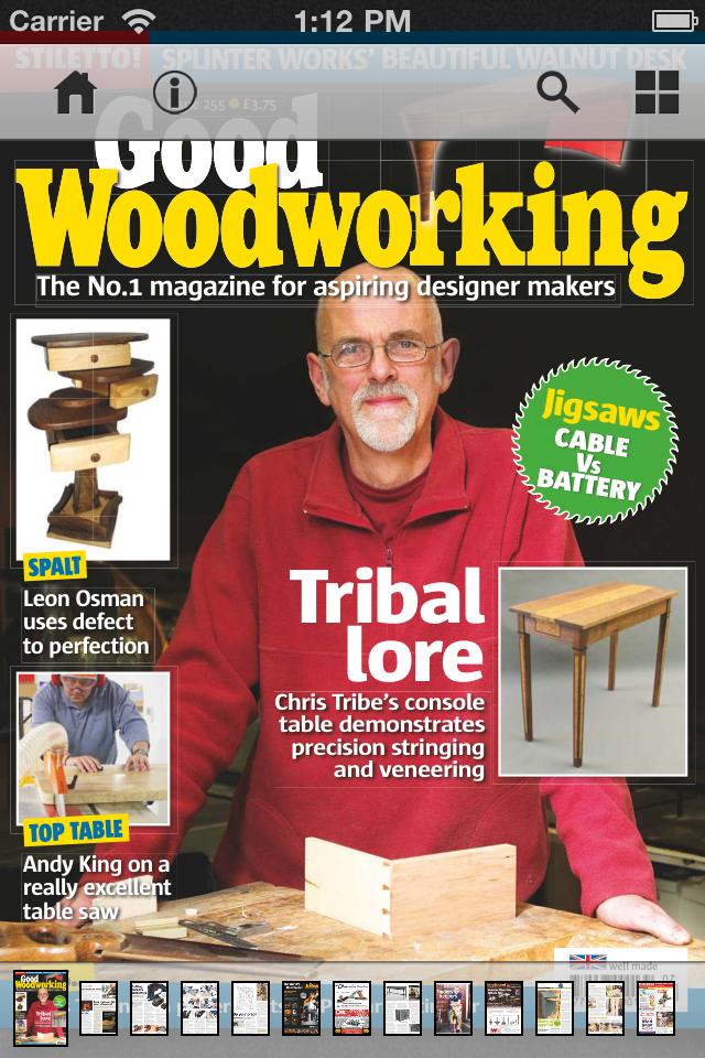 App Shopper Good Woodworking Magazine Lifestyle