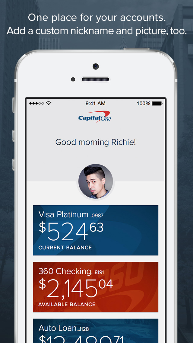 Capital One Mobile App Iphone