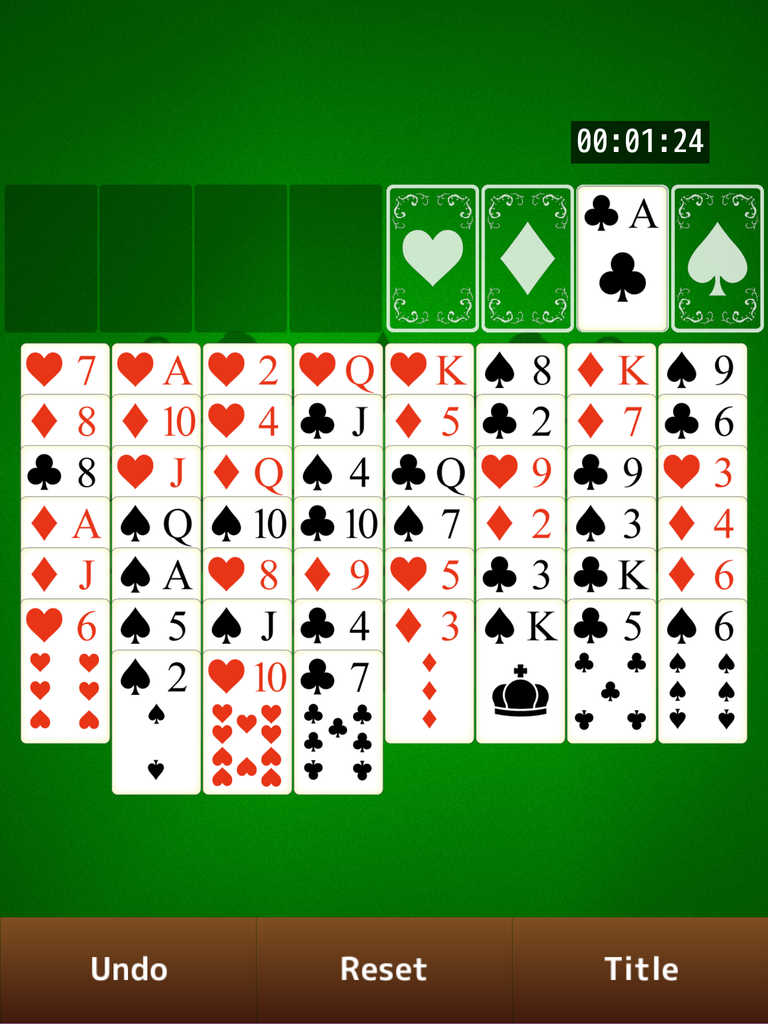 app shopper freecell solitaire  simple card game series
