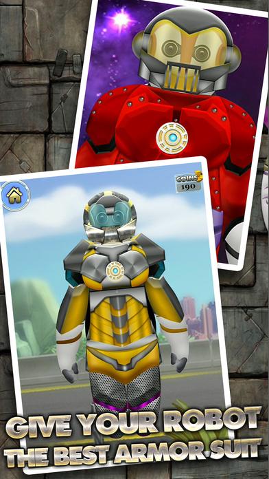 Big Iron Super Hero Robot Creator 2 – Makeover of Bot-Man Games for Free