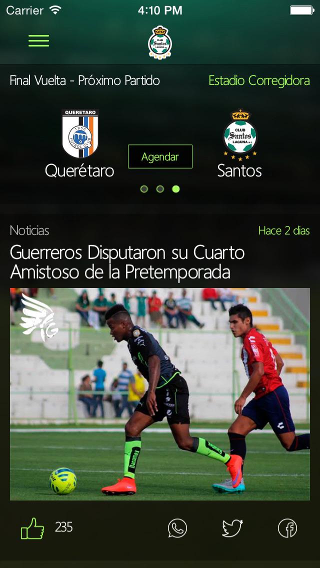 sports shoes 00d2a 04753 Download Santos Laguna Oficial App Store softwares ...