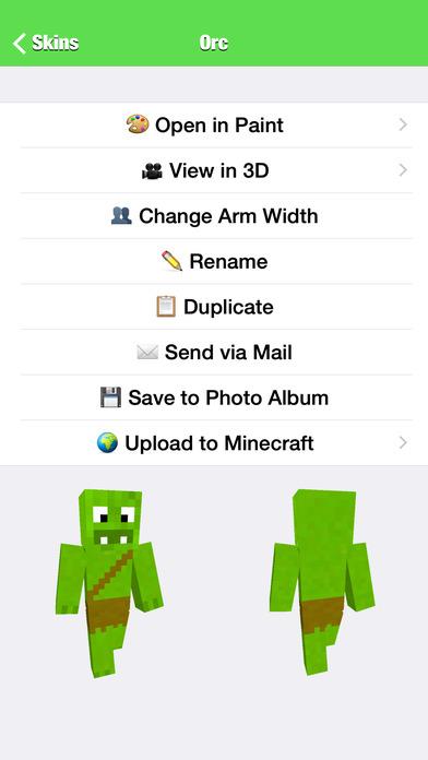 Skin Editor for Minecraft - AppRecs