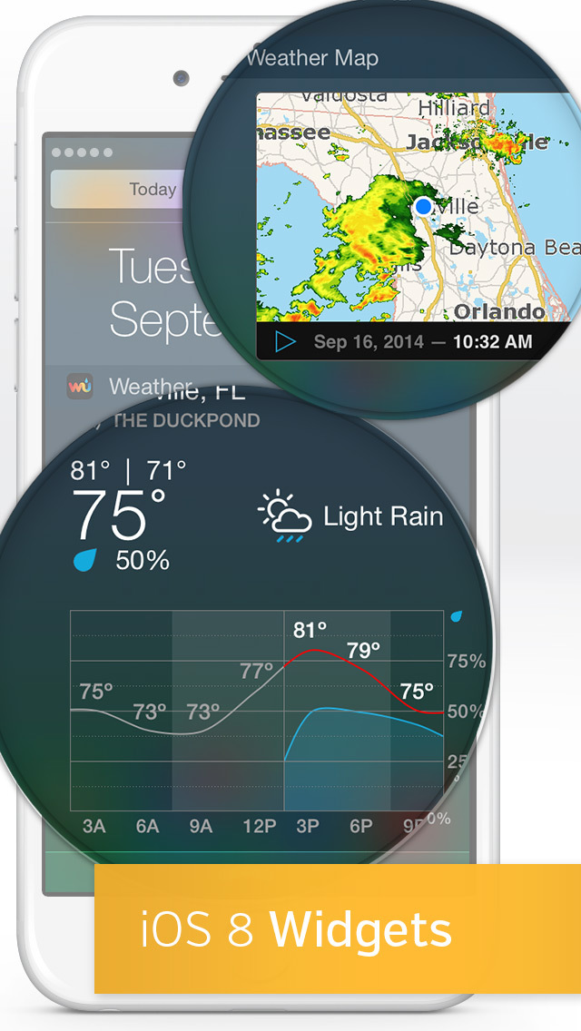 Weather Underground: Radar, Forecasts, Satellite Maps