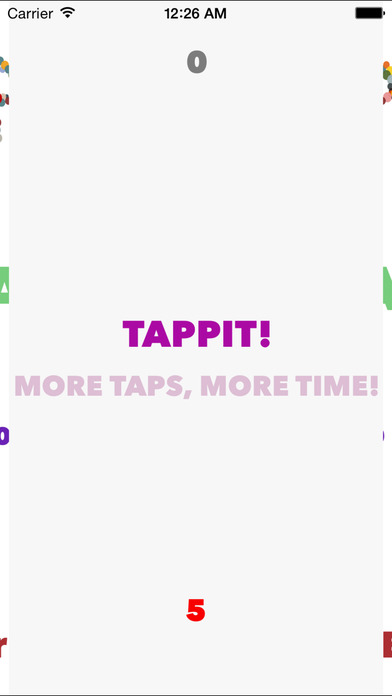 Tappit: the game Screenshot on iOS