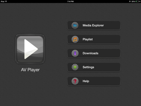 AVPlayer -Powerful Media Player IPA Cracked for iOS Free