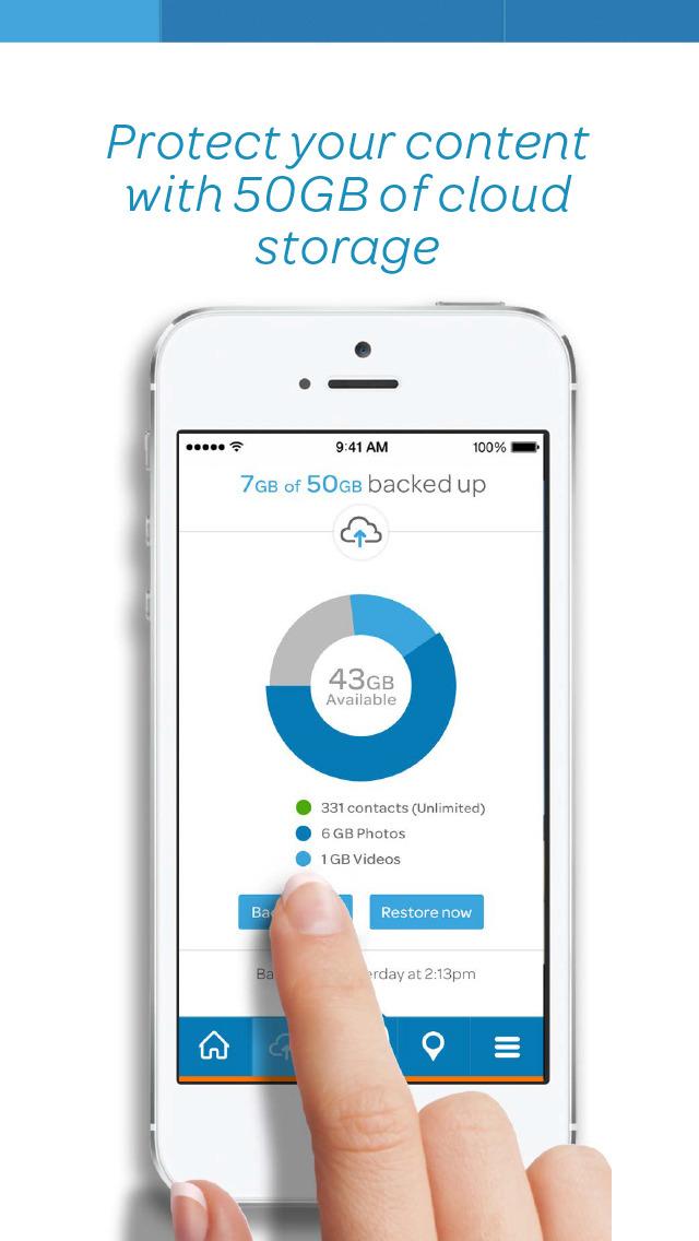 AT&T Protect Plus Screenshot