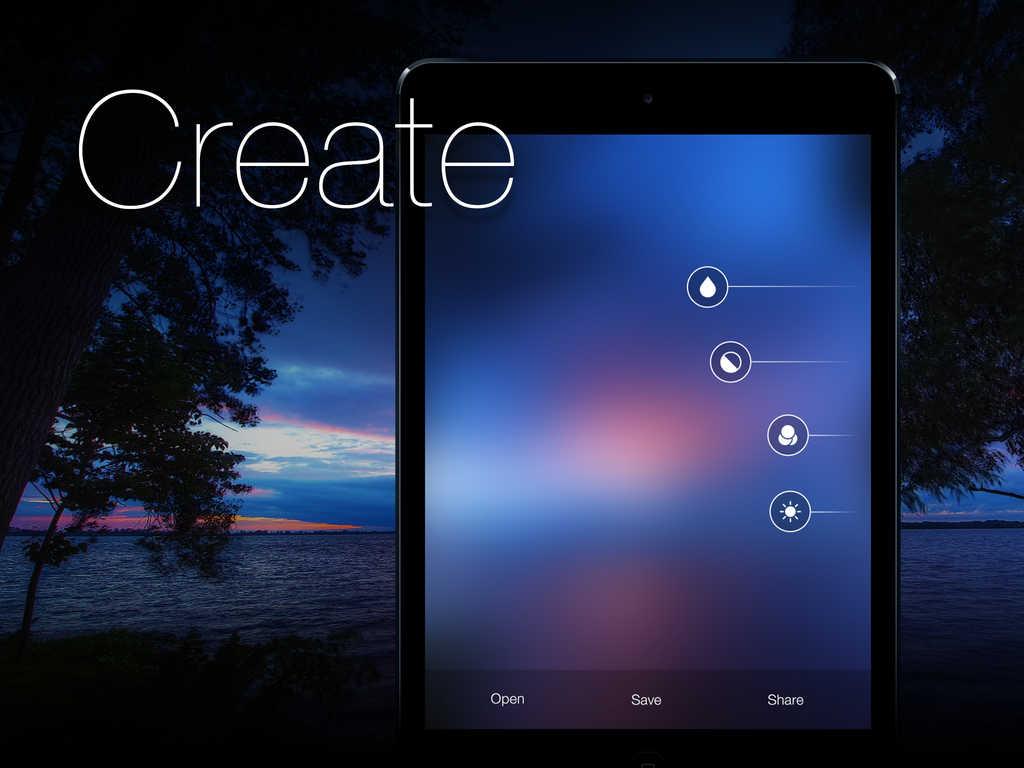 App Iphone 7 Wallpaper Border: Create Custom Blurred IOS 7 Style