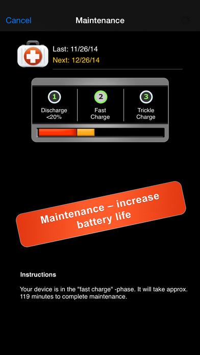 Batterieanzeige Iphone X