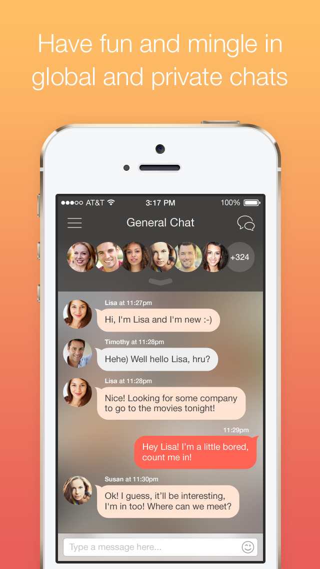 Naughty chat app ios