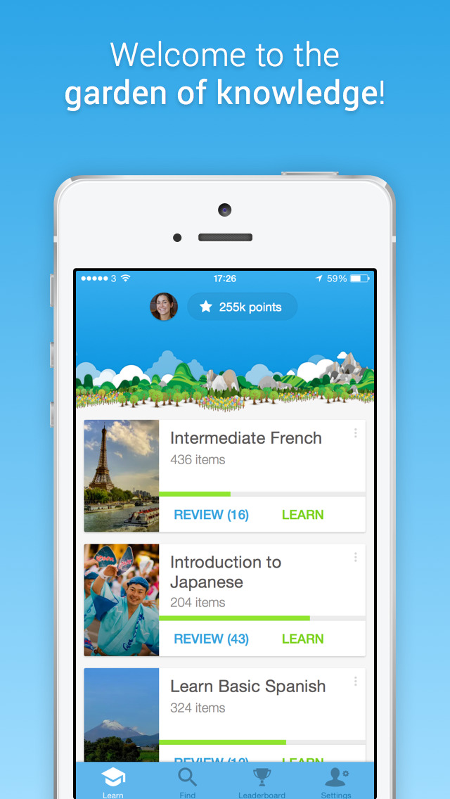 Download Memrise  Learn Faster  500+ languages including Spanish