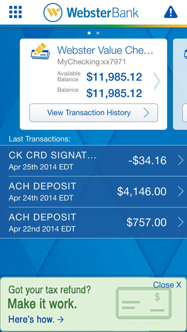 Webster Bank App For Iphone