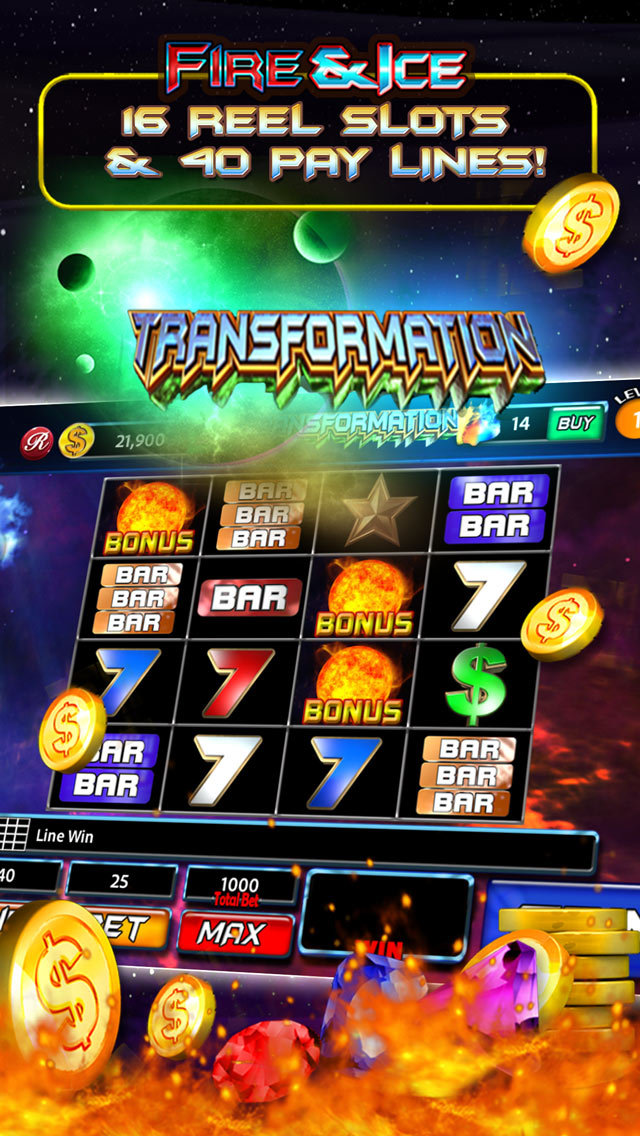 Fire And Ice Slot Machine