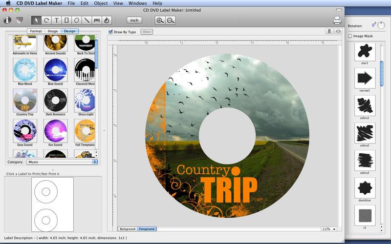 CD DVD Label Maker - iOS Graphics & Design Apps - AppDropp