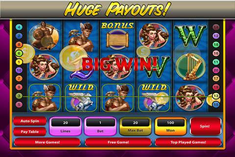 A Greek Gods Slot Machines Zeus Mount Olympus Odyssey